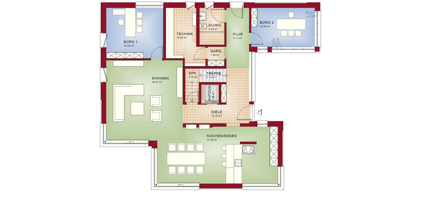 bien zenker concept m preis erdgeschoss conceptm von bienzenker gmbh with bien zenker concept m. Black Bedroom Furniture Sets. Home Design Ideas