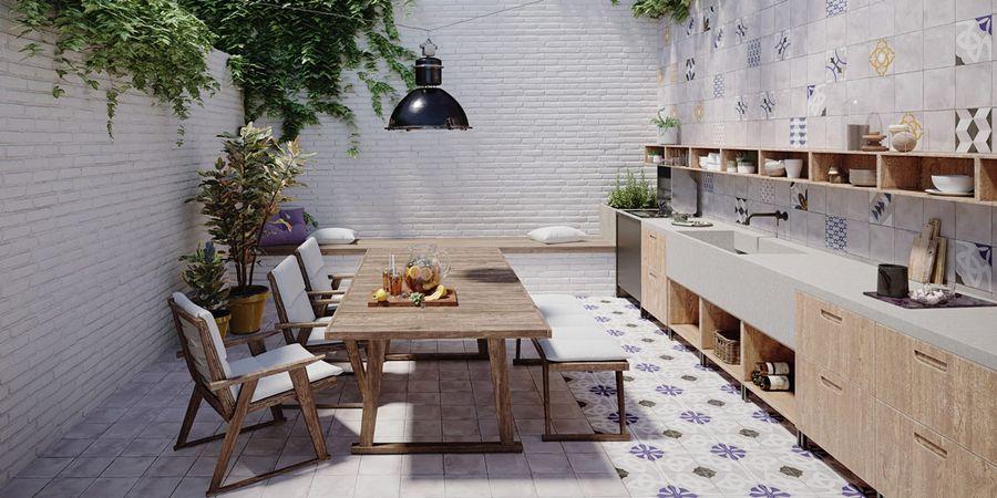Fußbodenbeläge für die Küche
