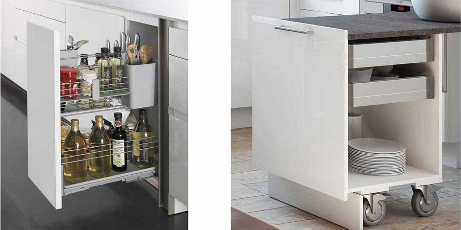Stauraum Ideen Für Kleine Küchen