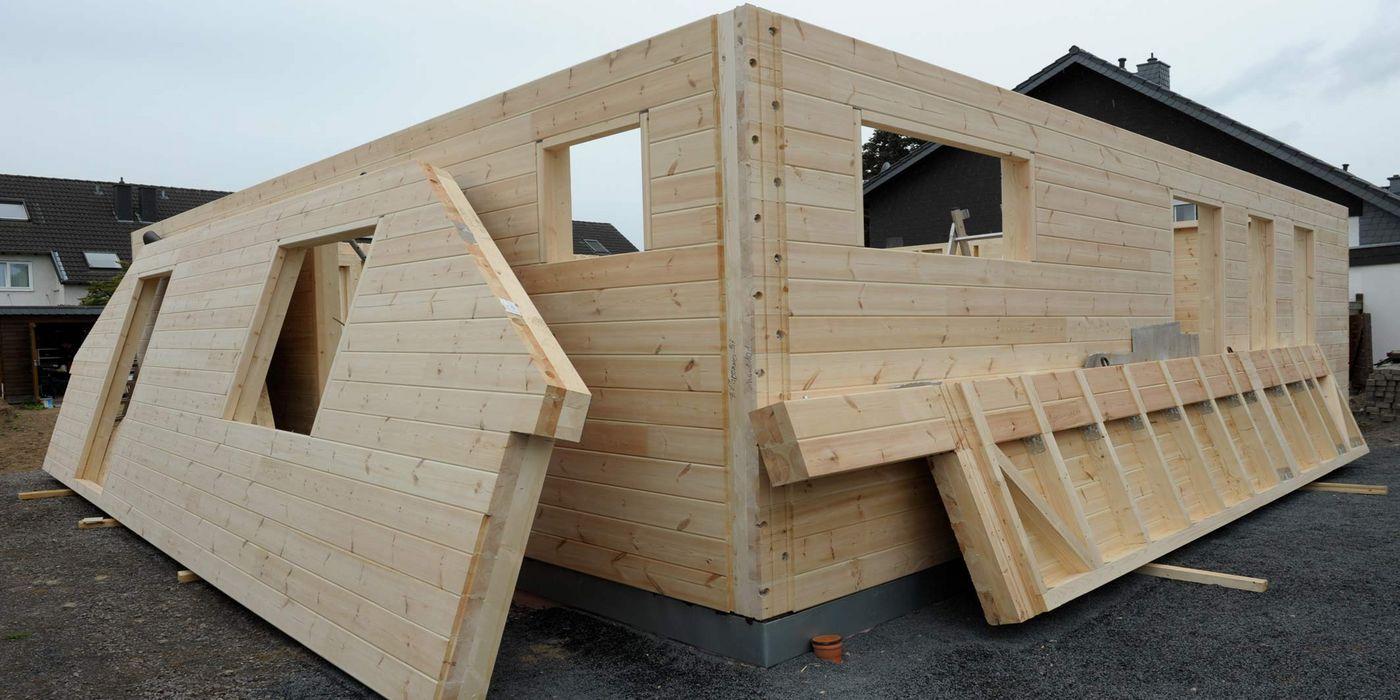 Blockhaus In Eigenleistung