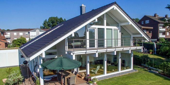 Modernes Fachwerkhaus Von Kd Haus