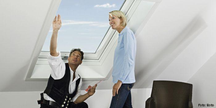 Dachfenster wohnen mit viel tageslicht - Dachfenster scheibe austauschen ...