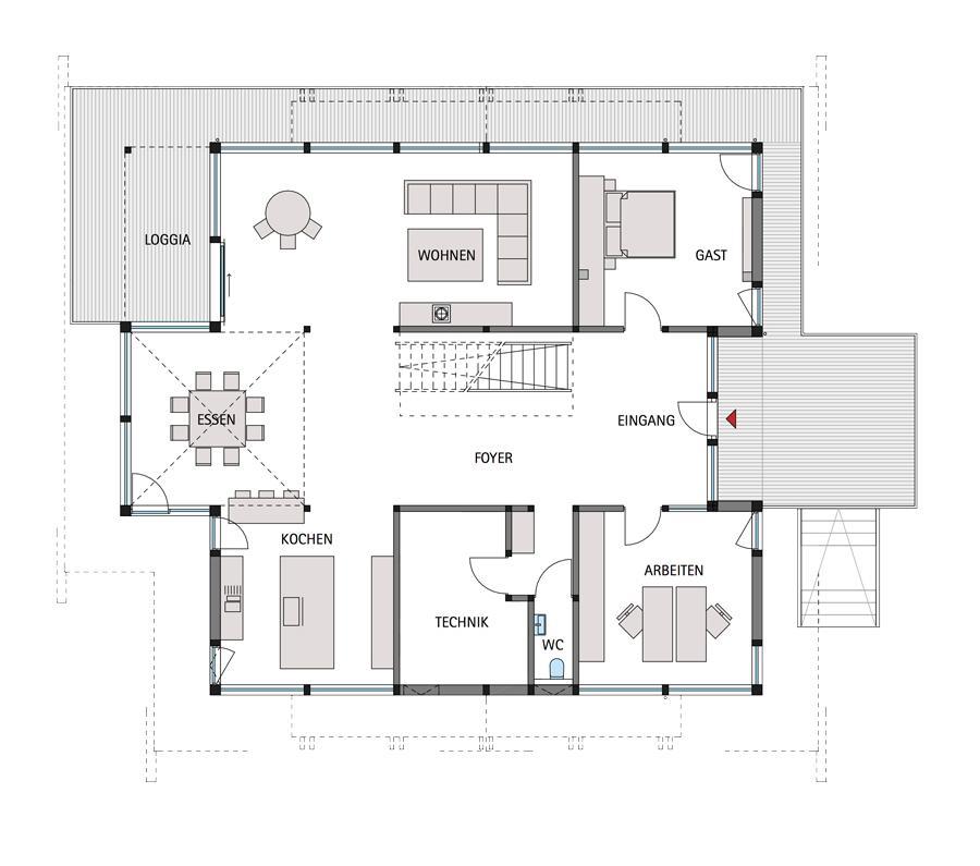 huf haus art 6. Black Bedroom Furniture Sets. Home Design Ideas