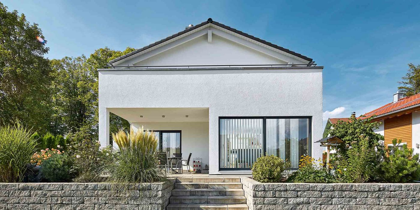 Modernes Satteldachhaus satteldach landhaus 139 luxhaus