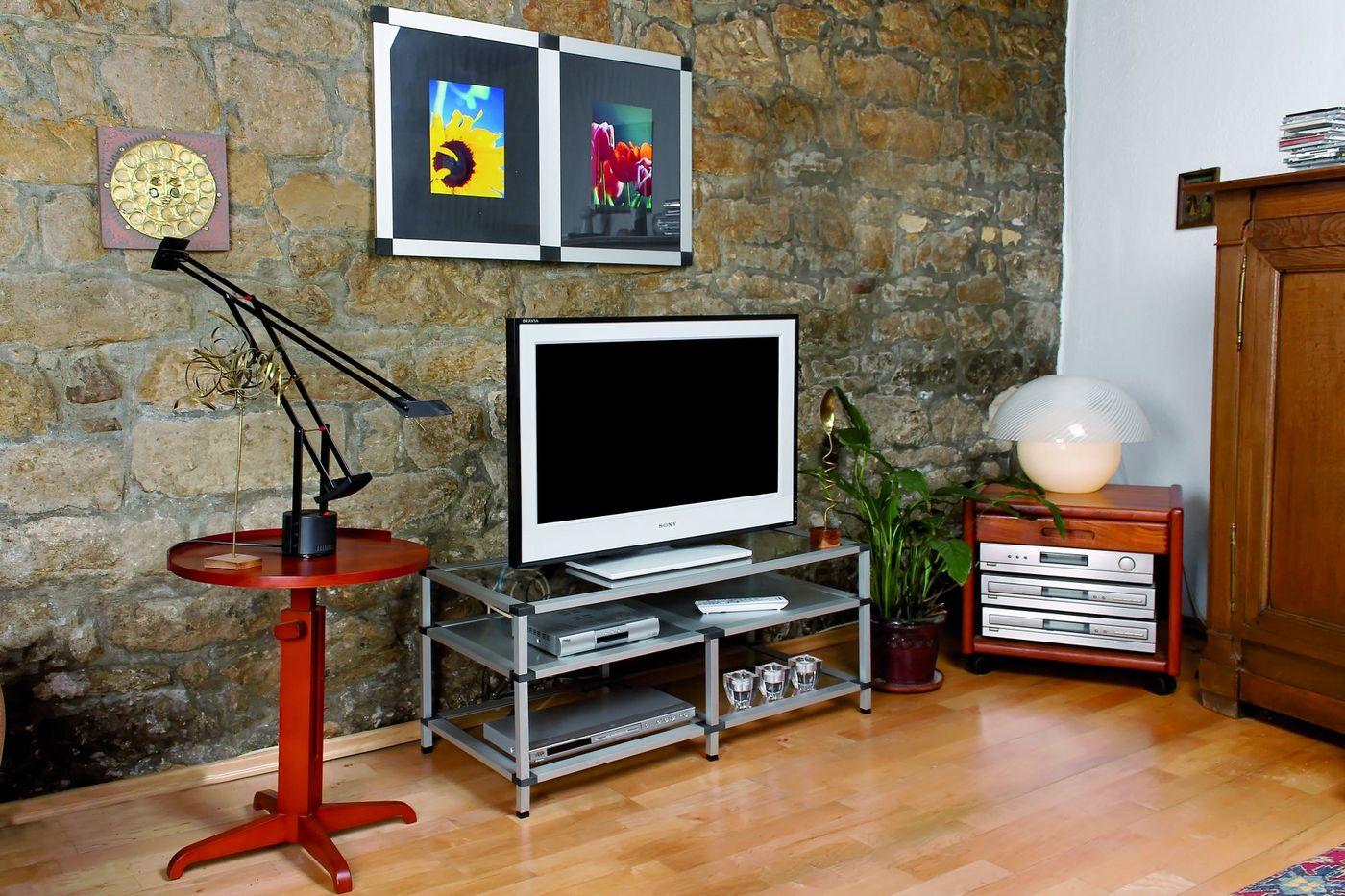 Sehr TV Regal und Multimedia Regal als Sideboard selber bauen UR48
