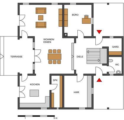 Grundriss haus modern mit erker  Haus Henkel Honka Blockhaus