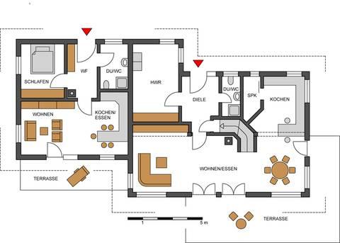 Haus mit einliegerwohnung anbau  Mehrgenerationenhaus: Eingeschossiger Anbau