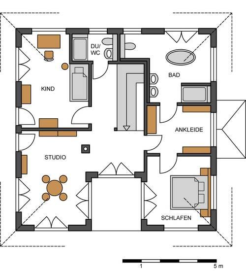 Grundriss stadtvilla 10 10 for Grundrisse zweifamilienhaus stadtvilla