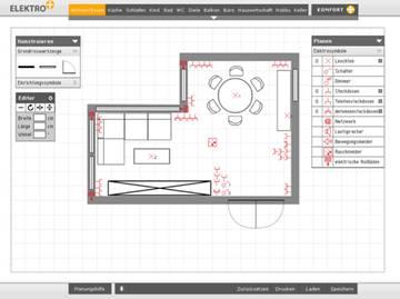 elektroplanung. Black Bedroom Furniture Sets. Home Design Ideas
