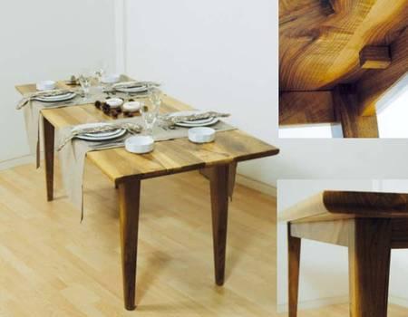 klappbarer tisch selber bauen. Black Bedroom Furniture Sets. Home Design Ideas