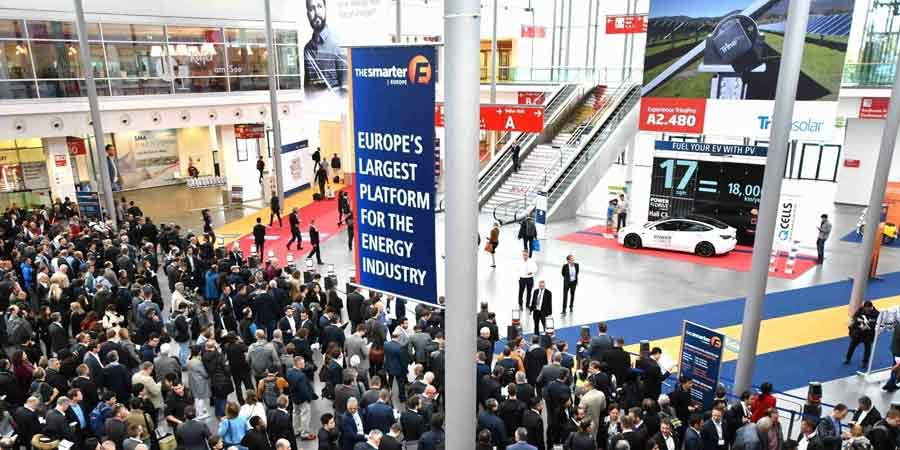 "Auf der Messe ""The Smarter E Europe 2019"""