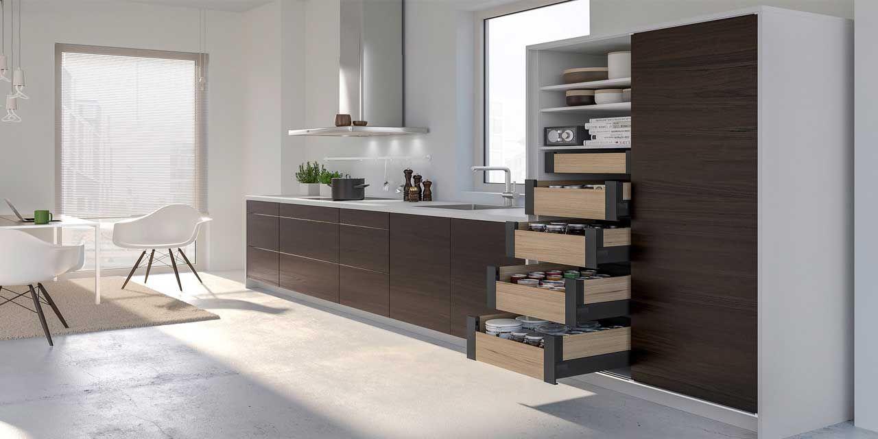 Stauraum-Ideen für kleine Küchen