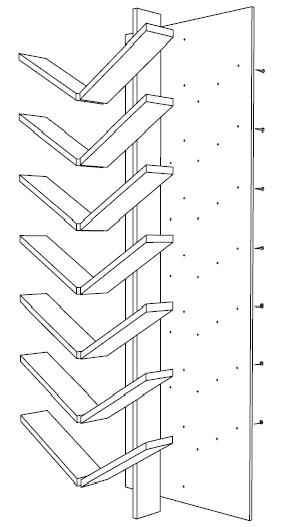 schuhregal schubiduh bauen. Black Bedroom Furniture Sets. Home Design Ideas