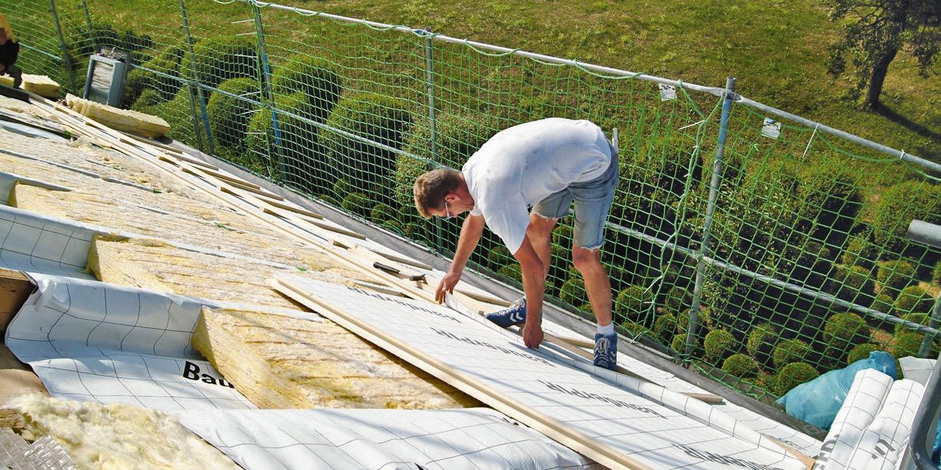 Dachdämmung – Wirksame Dämmung auf dem Dach