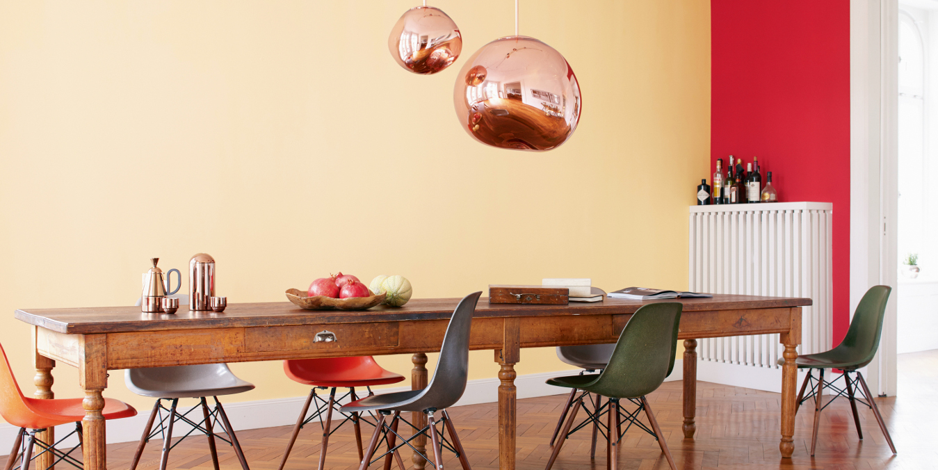 wandgestaltung und deckengestaltung tapeten farben putze. Black Bedroom Furniture Sets. Home Design Ideas