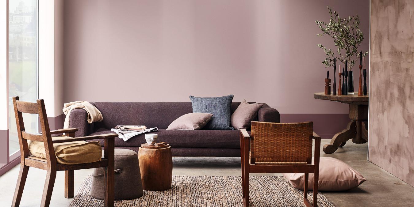 Farbe Sorgt Für Ambiente In Wohnräumen.